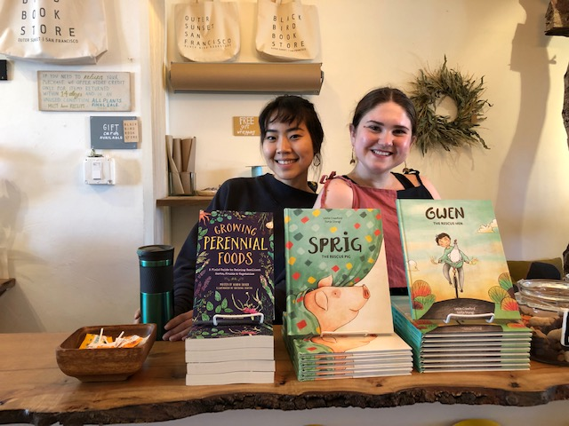 All our books on sale at Black Bird Bookstore in San Francisco.