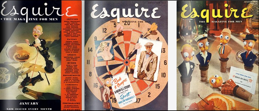 Esquire covers 1934-1951