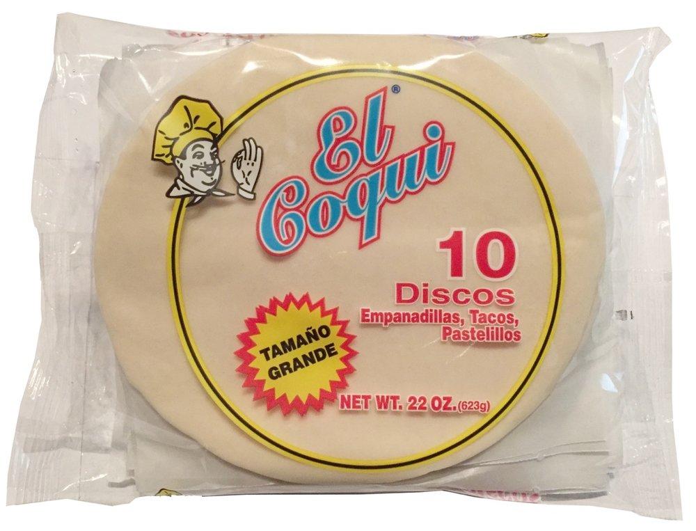 El Coqui Discos Blanco - Super Grande 6-1/2