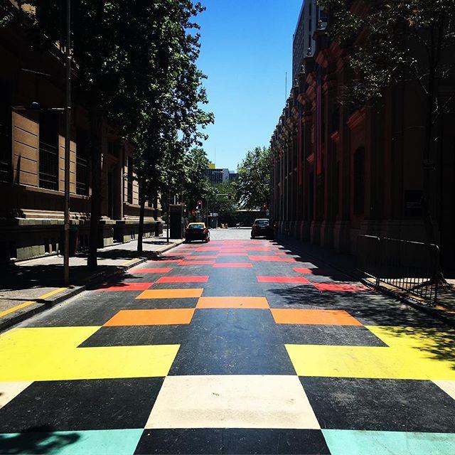 Street Art and Karate Kid #streetart #santiago #chile #sorrentino #colours