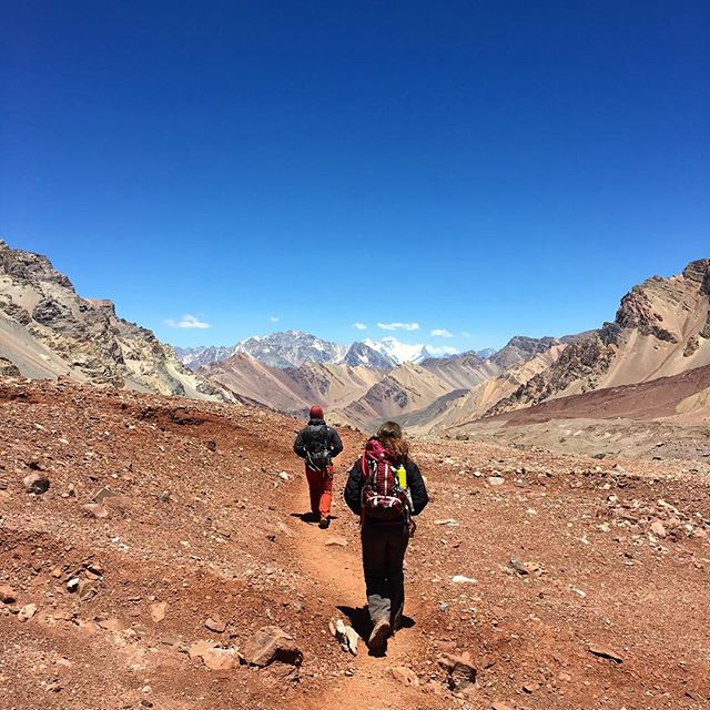 The Andes 🇦🇷 #aconcagua #andes #argentina #mountains #trekking