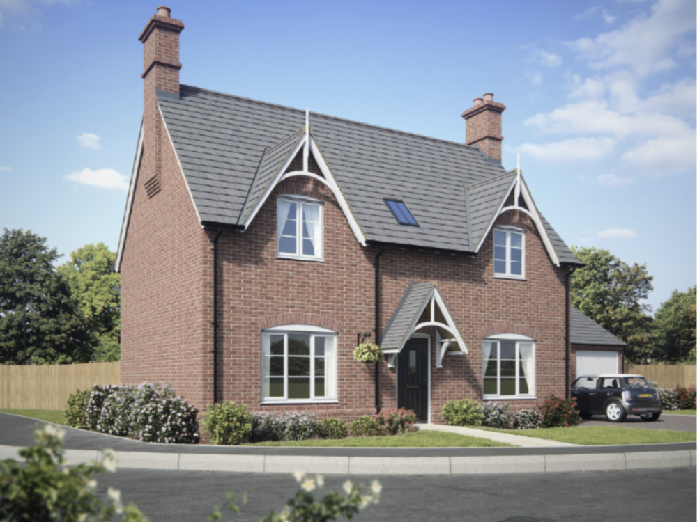 THE TATTON  Three double bedrooms, with triple aspect living room and spacious kitchen-diner.