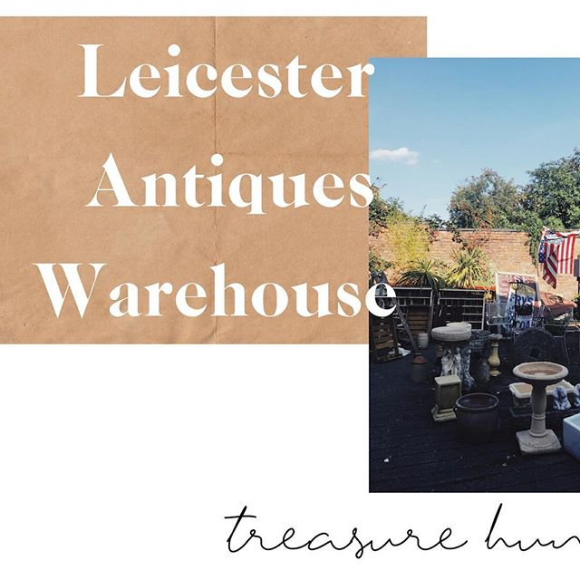 Looking for gems and bargains at @leicesterantiqueswarehouse is one of our favourite things. Who's been?