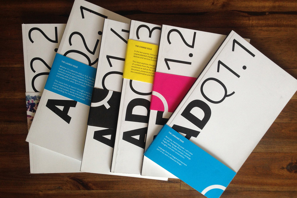 Internal Magazines + Marketing Collateral