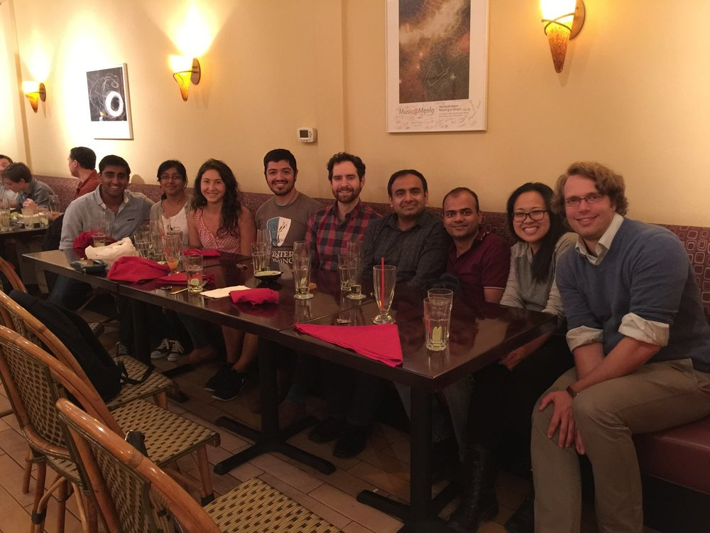 Eamon Byrne visits from the Siebold lab in the UK!