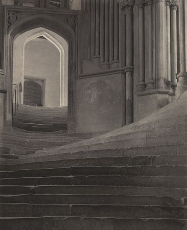 """A Sea of Steps,"" Wells Cathedral, 1903, by Frederick H. Evans, Museum of Modern Art"