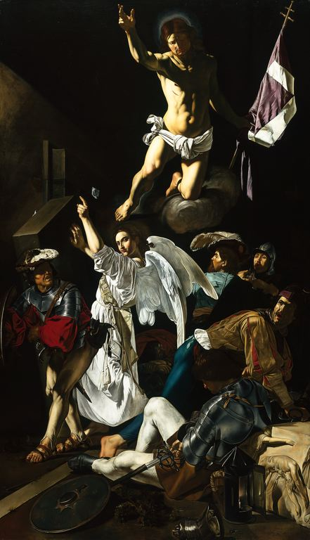 """The Resurrection,"" by Cecco del Caravaggio, 1619-20, Art Institute of Chicago"