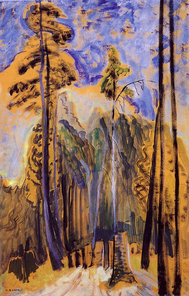 """Forest,"" by Emily Carr, c. 1940, McMichael Canadian Art Collection"