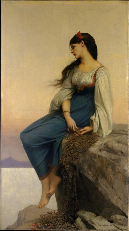 """Graziella,"" Jules-Joseph Lefebvre, 1878, Metropolitan Museum of Art"