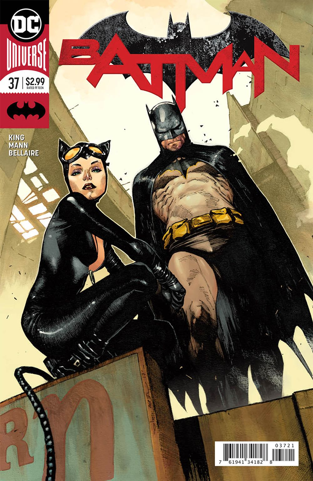Episode 16 Variant of the Week - (DC) Batman #37 (Coipel Variant)Cover by Olivier CoipelWritten by Tom KingIllustrated by Clay MannDid the Content Match the Drapes? - UNR