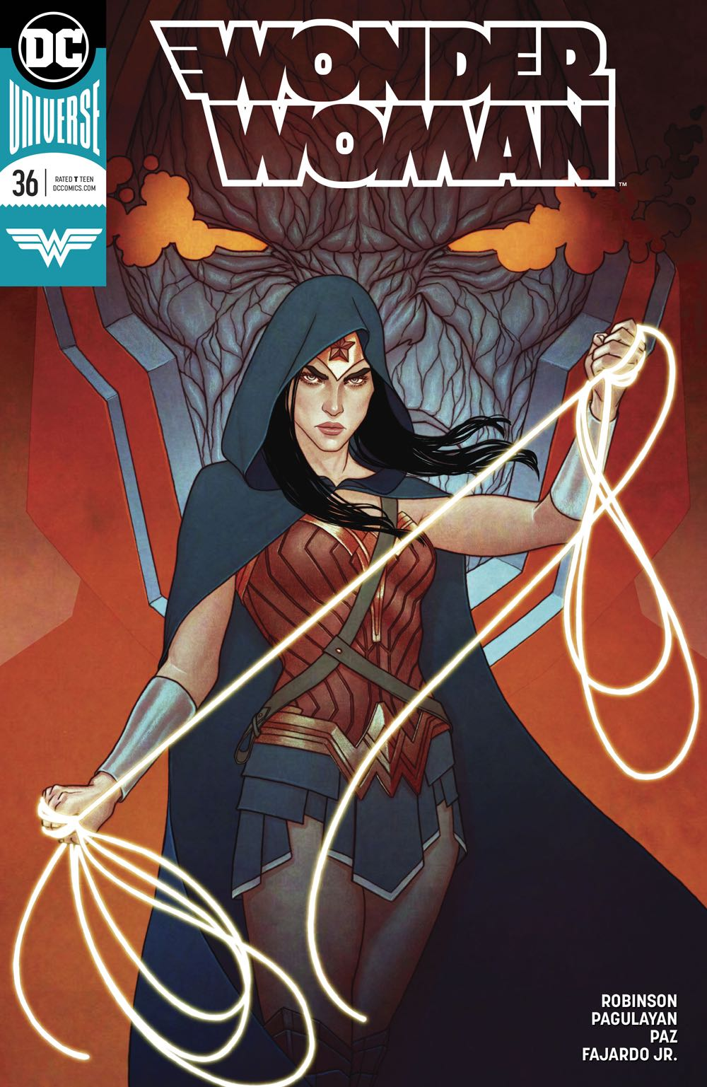 Episode 15 Variant of the Week! - (DC) Wonder Woman #36 (Frison Variant)Cover by Jenny FrisonWritten by James RobinsonIllustrated by Carlo Pagulayan and Jason PazDid the Content Match the Drapes? - UNR
