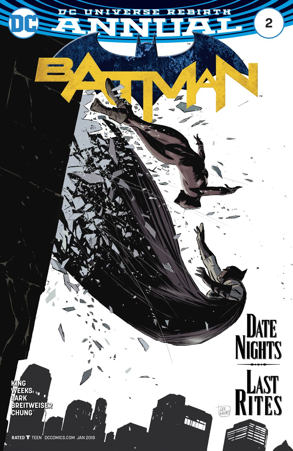 Episode 13 Cover of the Week! - (DC) Batman Annual #2Cover by Lee WeeksWritten by Tom KingIllustrated by Lee WeeksDid the Content Match the Drapes? - YES!