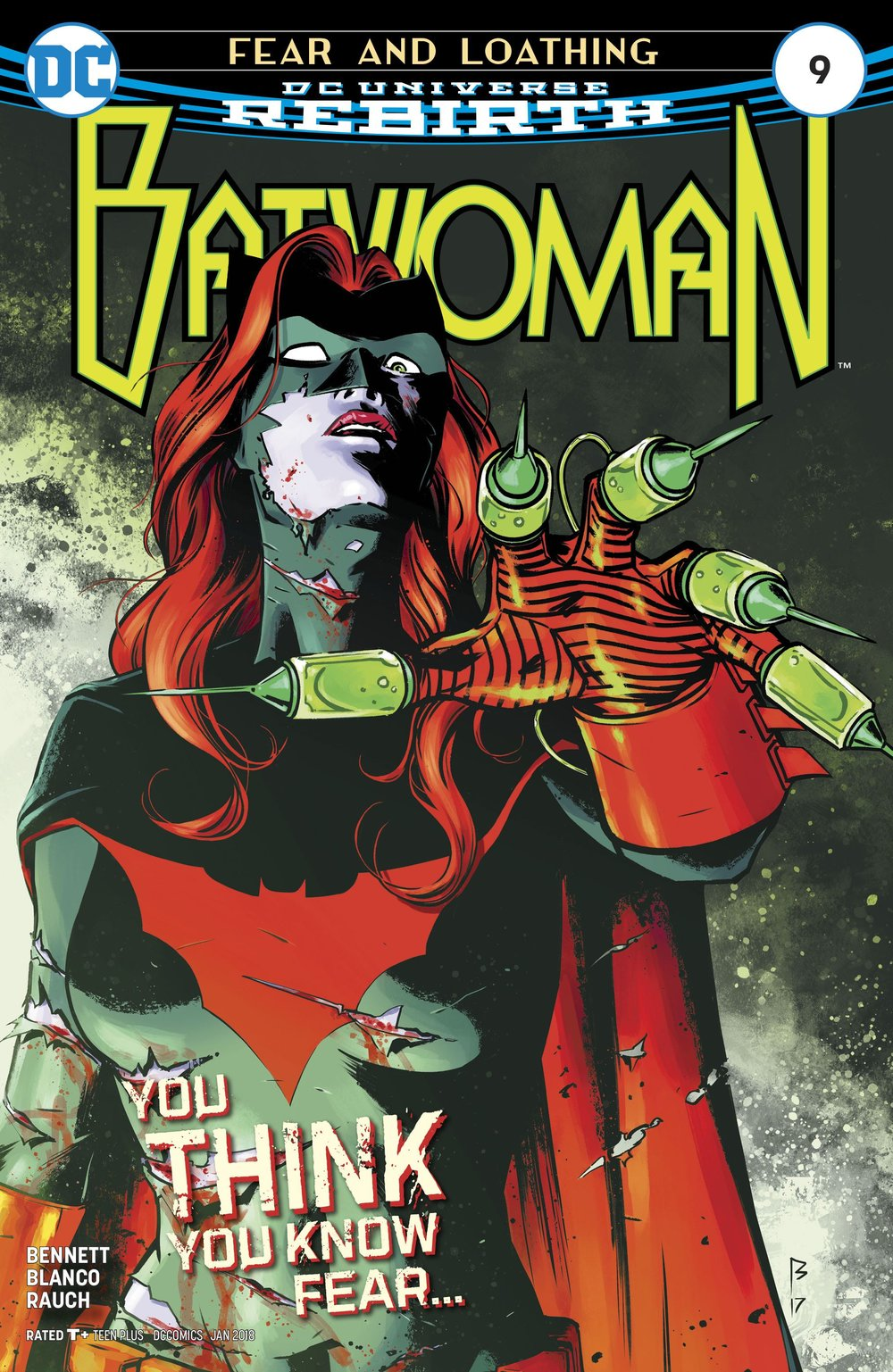 Episode 11 Cover of the Week! - (DC) Batwoman #9Cover by Fernando BlancoWritten by Marguerite BennettIllustrated by Fernando BlancoDid the Content Match the Drapes? - UNR
