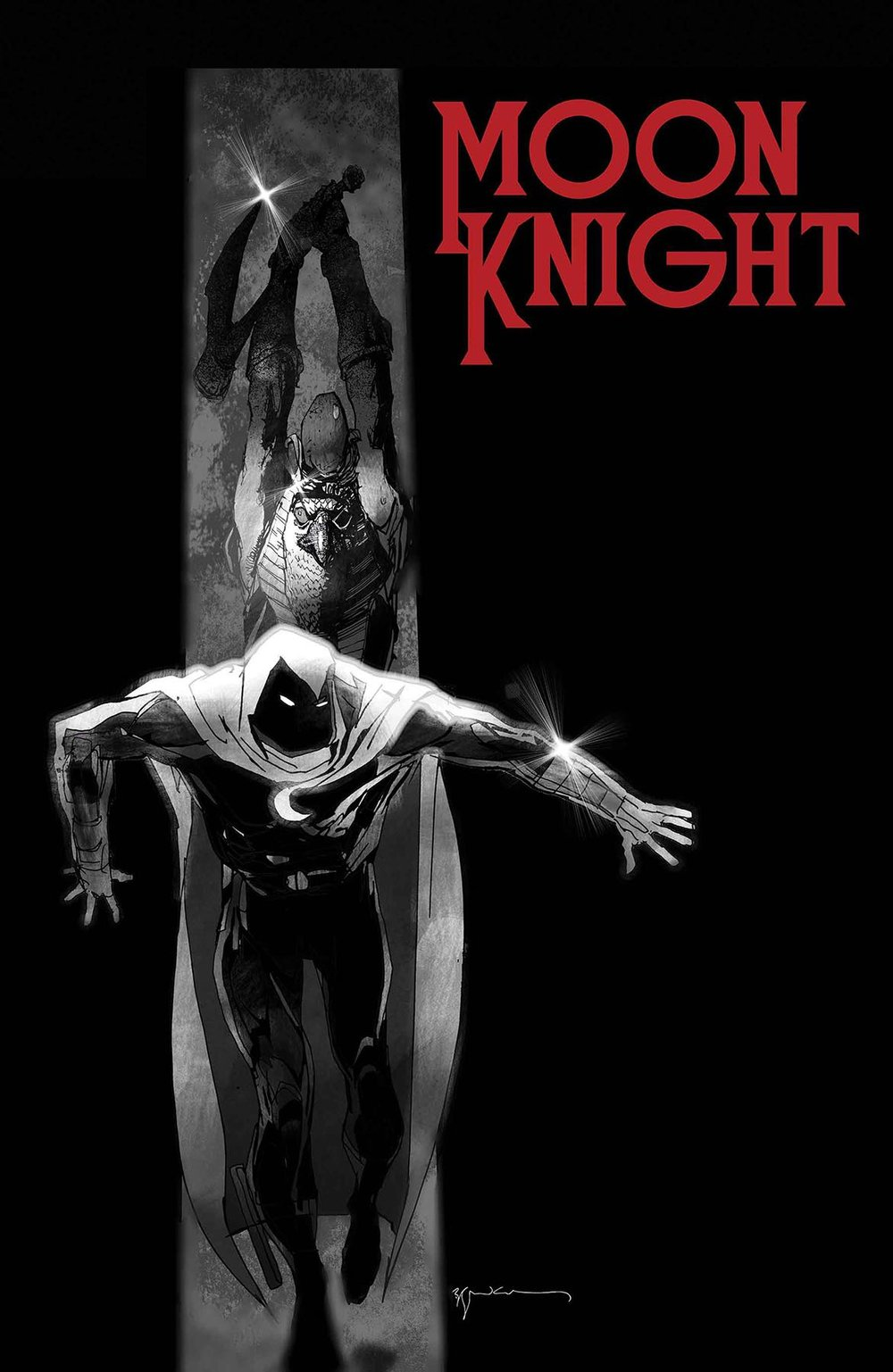 Episode 10 Variant of the Week! (Revoked due to bad 3D cover) - (Marvel) Moon Knight #188 (Sienkiewics Variant)Cover by Bill SienkiewicsWritten by Max BemisIllustrated by Jacen BurrowsDid the Content Match the Drapes? - UNR
