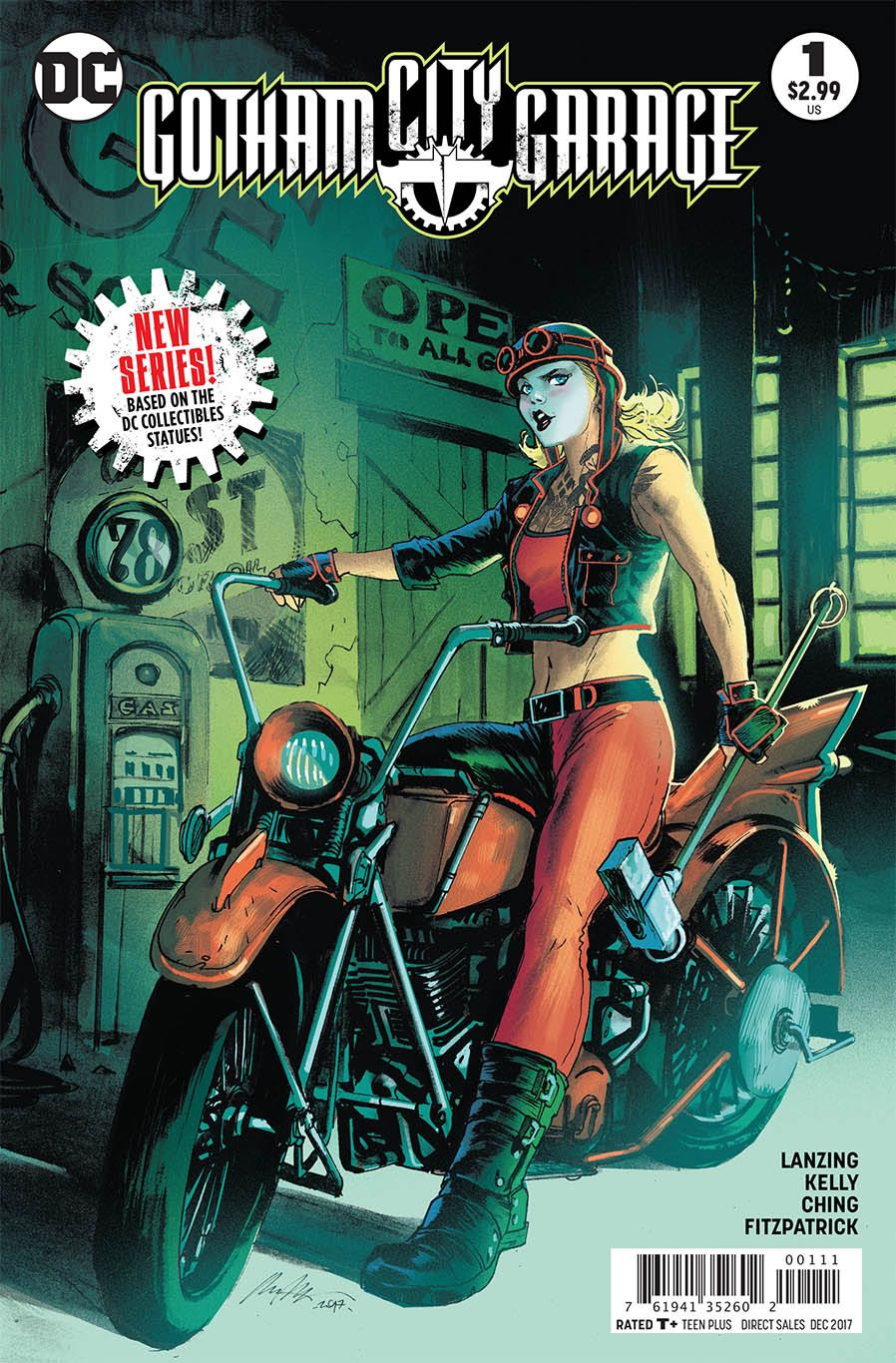 Episode 6 Cover of the Week! - (DC) Gotham City Garage #1Cover by Rafael AlbuquerqueWritten by Jackson Lanzing and Collin KellyIllustrated by Brian ChingDid the Content Match the Drapes? - No :'(