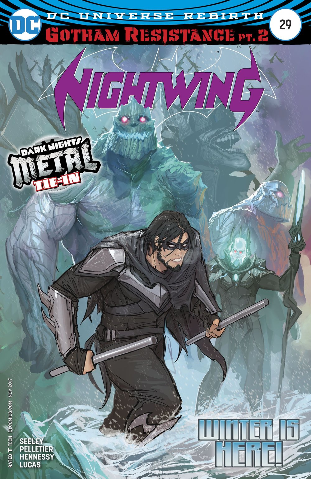 Episode 5 Cover of the Week! - (DC) Nightwing #29Cover by Stjepan SejicWritten by Tim SeeleyIllustrated by Paul PelletierDid the Content Match the Drapes? - UNR