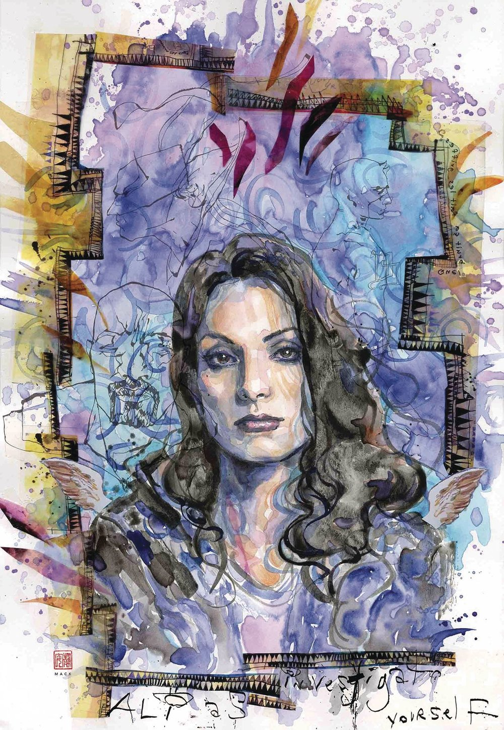Episode 3 Cover of the Week! - (Marvel) Jessica Jones #11Cover by David MackWritten by Brian Michael BendisIllustrated by Michael GaydosDid the Content Match the Drapes? - UNR