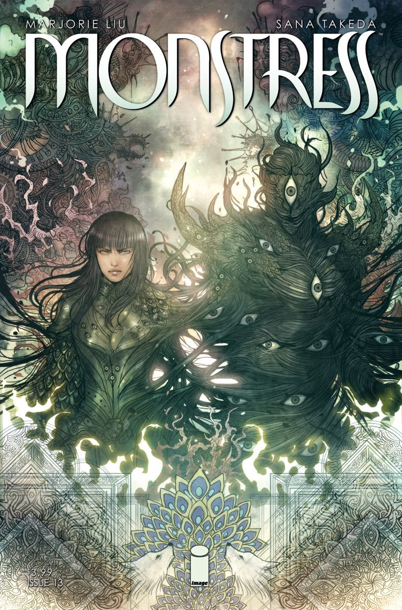 Episode 20 Cover of the Week! - (Image) Monstress #13Cover by Sana TakedaWritten by Marjorie M LiuIllustrated by Sana TakedaDid the Content Match the Drapes? - UNR
