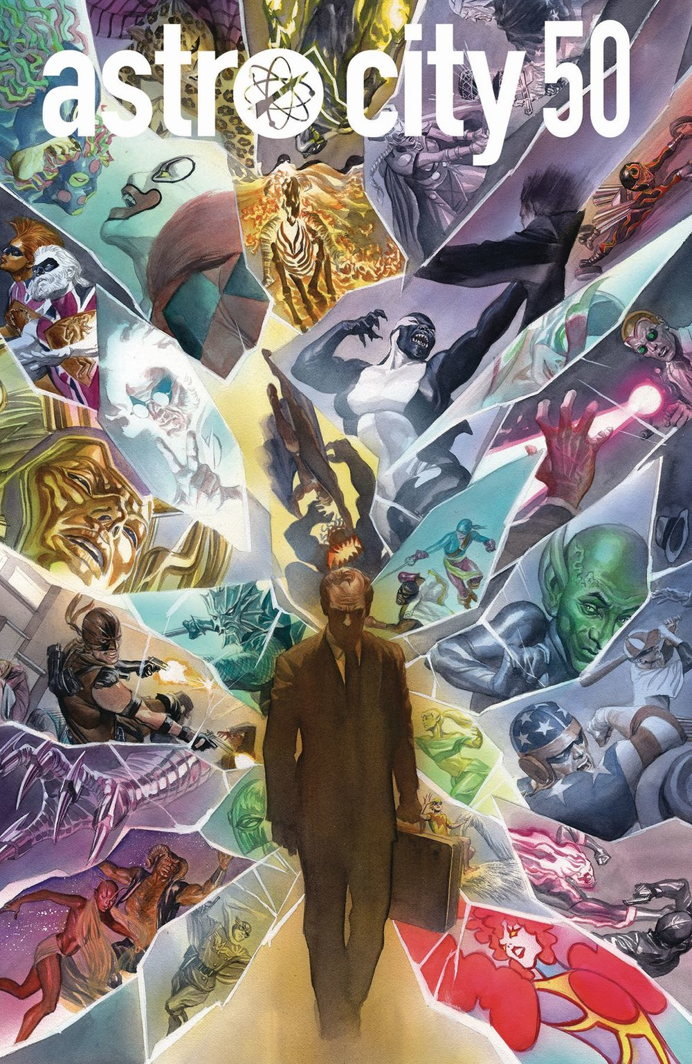 Episode 21 Co-Cover of the Week! - (DC/Vertigo) Astro City #50Cover by Alex RossWritten by Kurt BusiekIllustrated by Brent Eric AndersonDid the Content Match the Drapes? - UNR