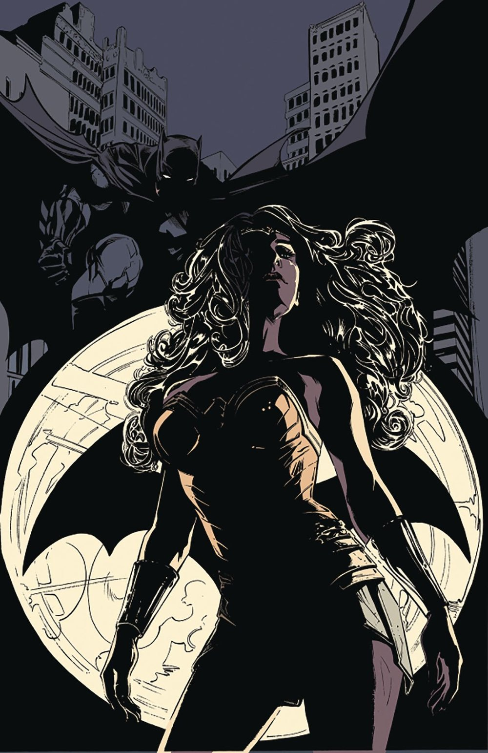 Episode 22 Cover of the Week! - (DC) Batman #40Cover by Joelle JonesWritten by Tom KingIllustrated by Joelle JonesDid the Content Match the Drapes? - No. :'(
