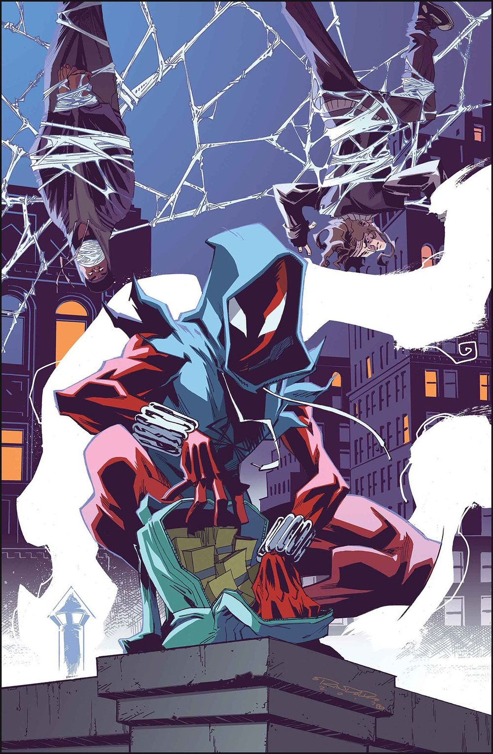 Episode 23 Cover of the Week! - (Marvel) Ben Reilly : The Scarlet Spider #14Cover by Khary RandolphWritten by Peter DavidIllustrated by Will SlineyDid the Content Match the Drapes? - UNR