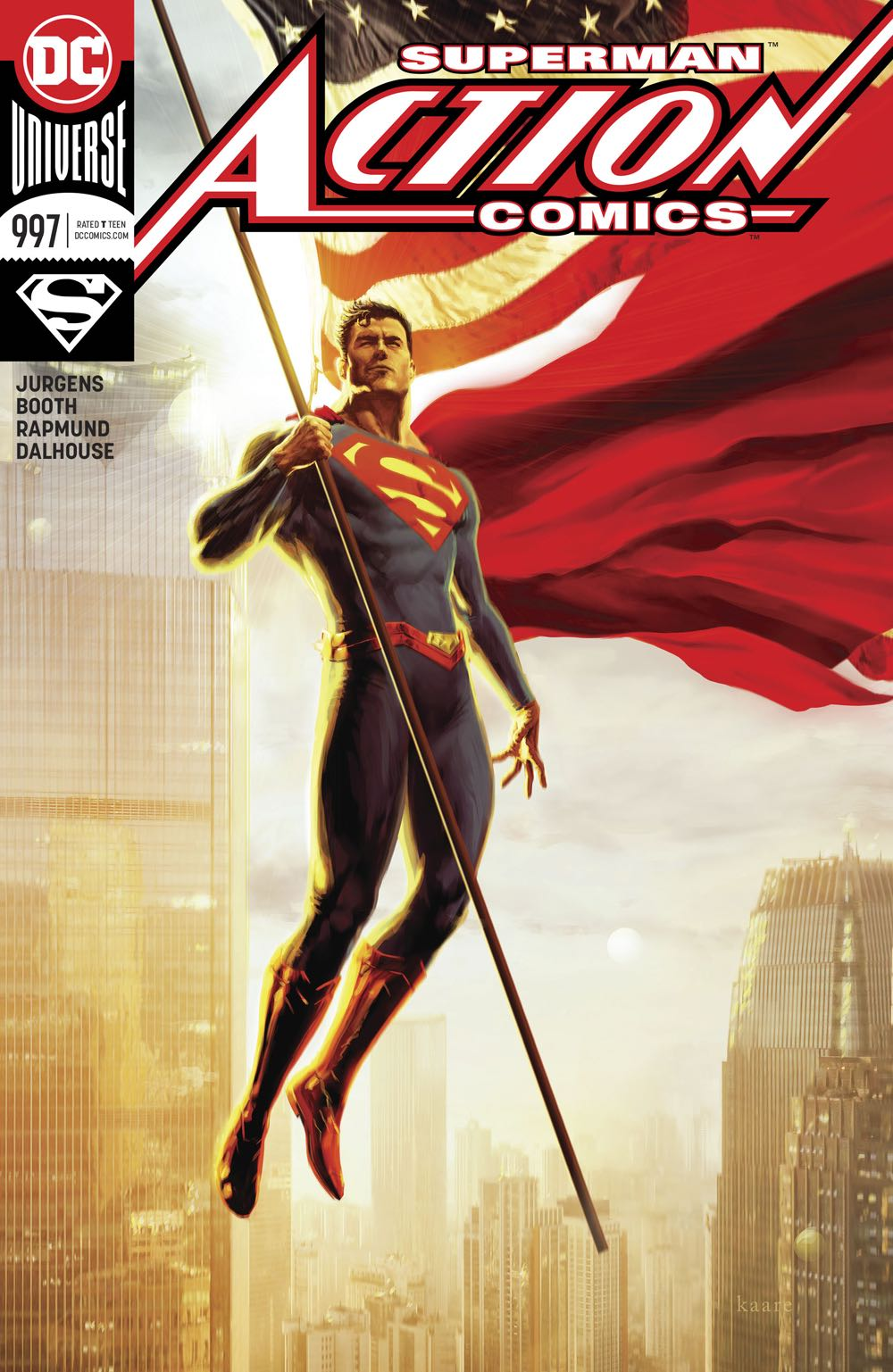 Episode 23 Variant of the Week! - (DC) Action Comics #997 (variant)Cover by Kaare AndrewsWritten by Dan JurgensIllustrated by Will ConradDid the Content Match the Drapes? - UNR