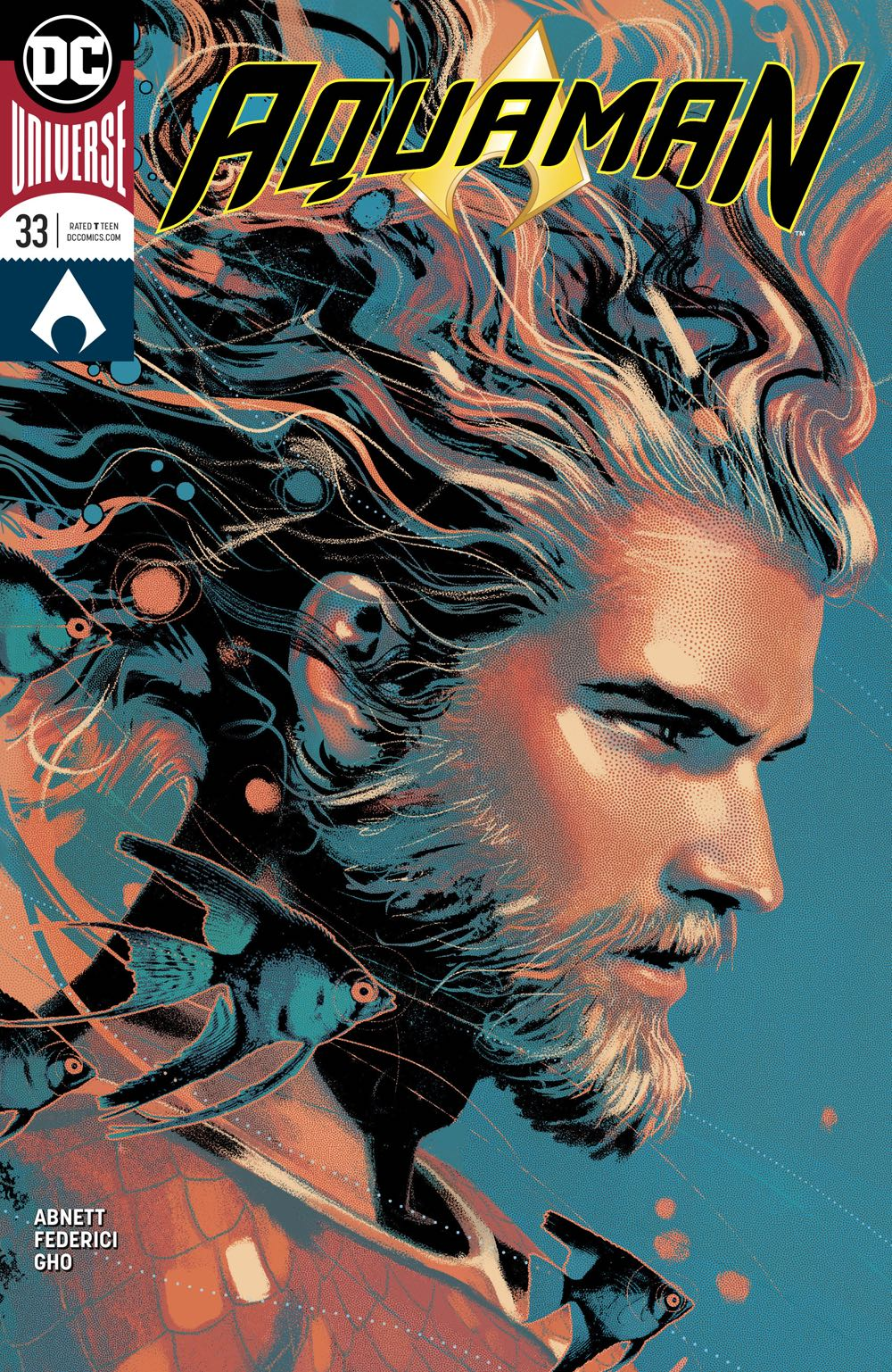 Episode 24 Variant of the Week! - (DC) Aquaman #33 variantCover by Joshua MiddletonWritten by Dan AbnettIllustrated by Ricardo FedericiDid the Content Match the Drapes? - Yes! (Fantastic)