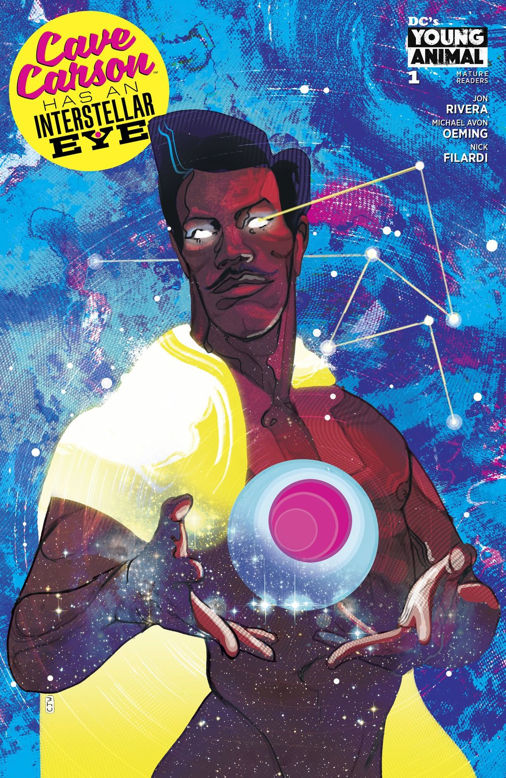 Episode 26 Variant of the Week! - (DC) Cave Carson Has an Interstellar Eye (Variant)Cover by Christian WardWritten by Jonathan RiveraIllustrated by Michael Avon OemingDid the Content Match the Drapes? - Yes!