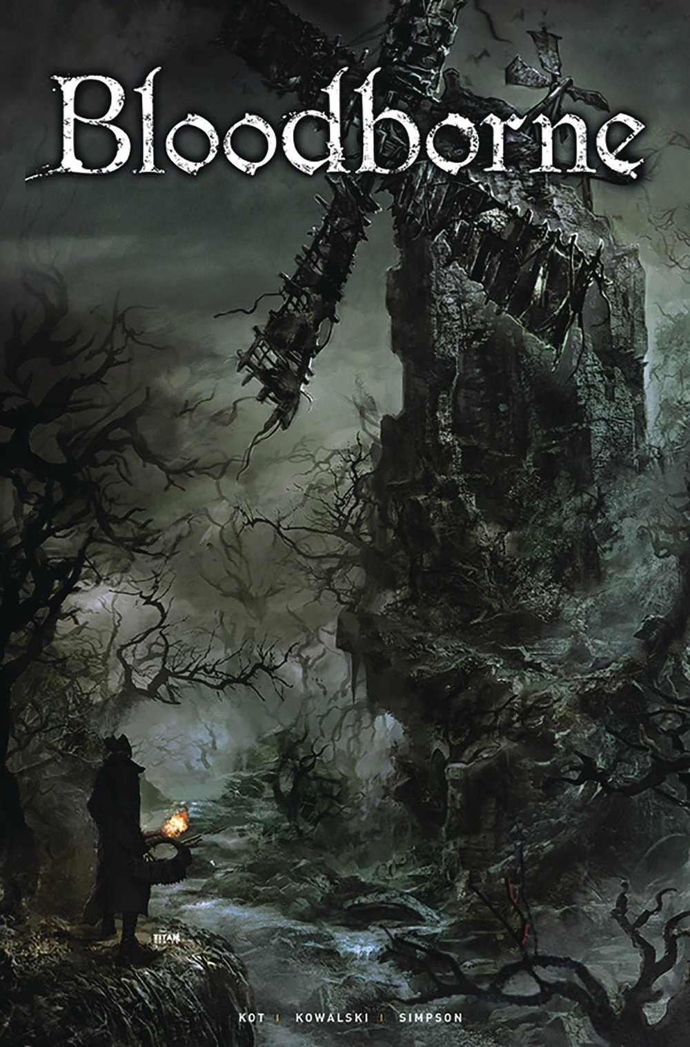 Episode 27 Variant of the Week! - (Titan Books) Bloodborne #2Cover by Piotr KowalskiWritten by Ales KotDid the Content Match the Drapes? - Yes... as long as you've played the game.