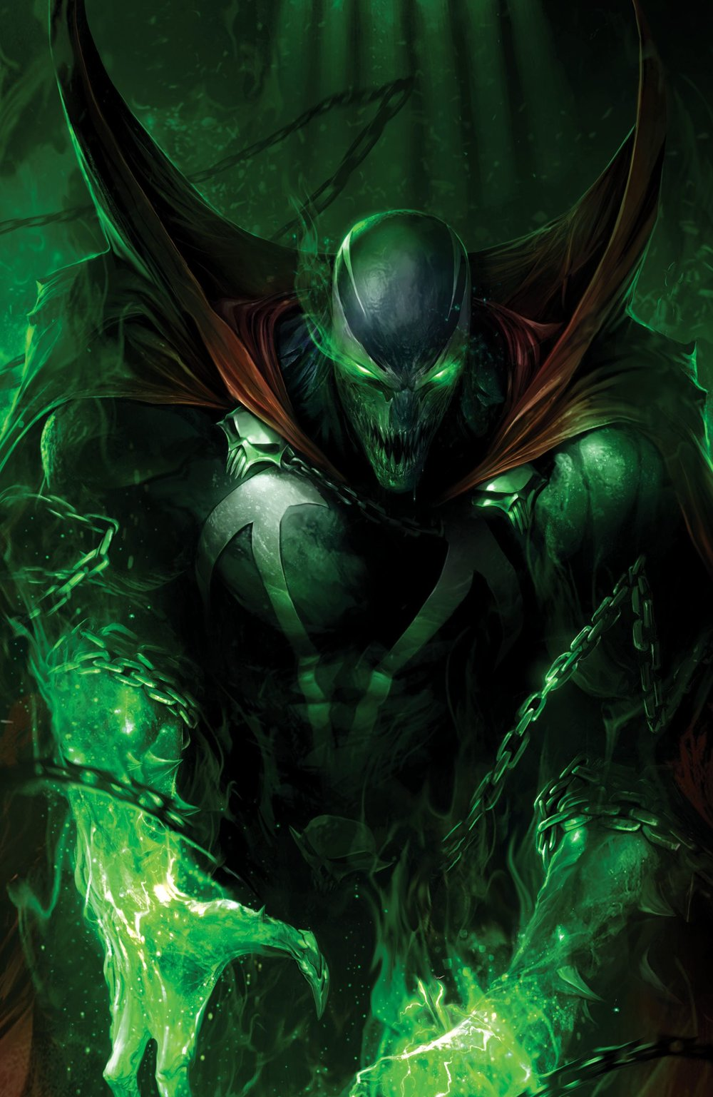 Episode 28 Variant of the Week! - (Image) Spawn #284 (Mattina Virgin Variant)Cover by Francesco MattinaWritten by Todd McFarlaneIllustrated by Jason Shawn AlexanderDid the Content Match the Drapes? - UNR