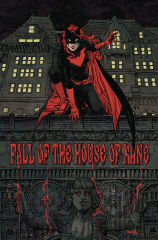 Episode 30 Cover of the Week! - (DC) Batwoman #14Cover by Dan PanosianWritten by Marguerite BennettIllustrated by Fernando BlancoDid the Content Match the Drapes? - UNR