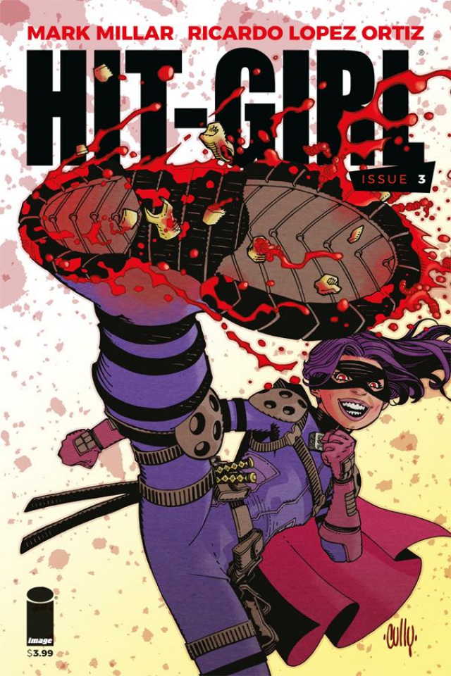 Episode 31 Variant of the Week! - (Image) Hit-Girl #3Cover by Cully HamnerWritten by Mark MillarIllustrated by Ricardo Lopez OrtizDid the Content Match the Drapes? - UNR
