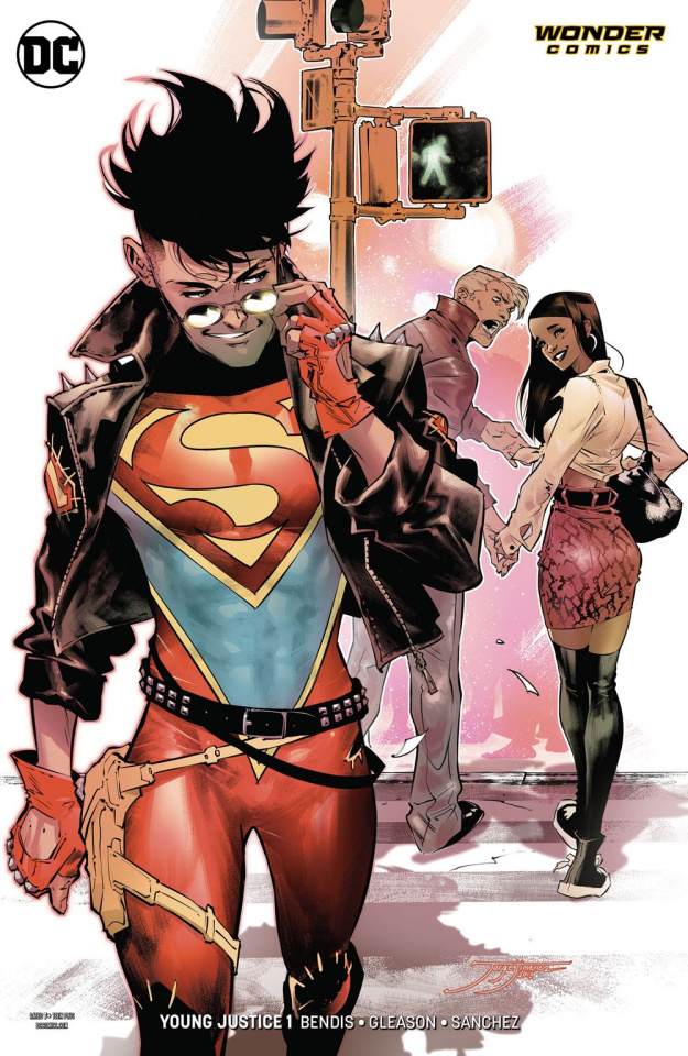 Episode 35 Variant of the Week! - (DC) Young Justice #1 (Superboy Variant)Cover by Jorge JimenezWritten by Brian Michael BendisIllustrated by Patrick GleasonDid the Content Match the Drapes? - Yes!
