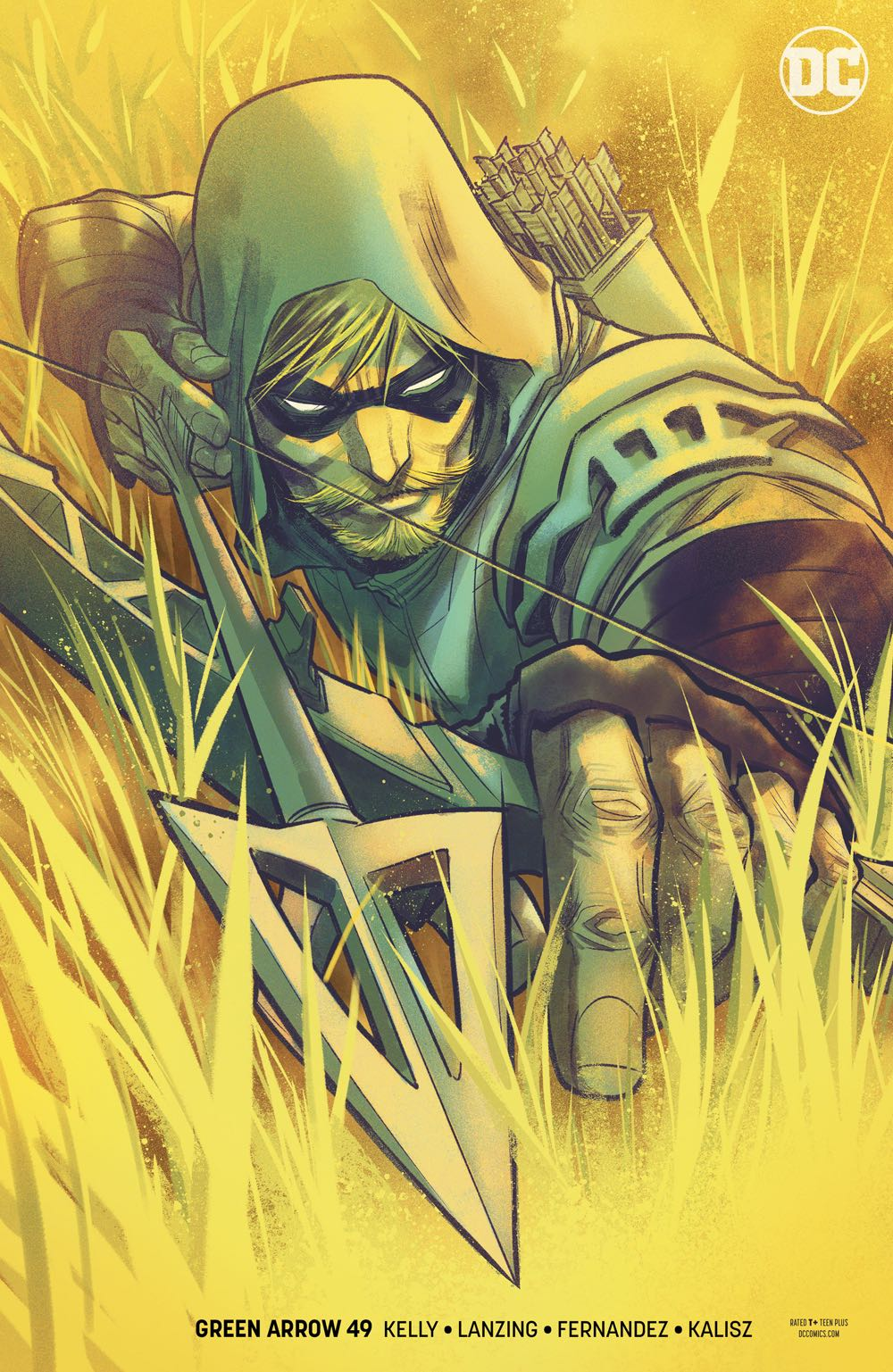 Episode 38 Variant of the Week! - (DC) Green Arrow #49Cover by Francis ManapulWritten by Jackson Lanzing and Collin KellyIllustrated by Javi FernandezDid the Content Match the Drapes? - UNR