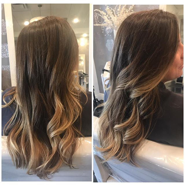Balayage 👸 Haircut 💇 & Style 💁by Master stylist Gabriela. 🙌💕 Call for bookings! #balayage #balayagehighlights #handpainted #sunkissed #seamlessbalayage #haircut #hairstyle #instahair #hairgoals #hairporn #goldwellsalon #goldwell #healthyhair #parkland #parklandsfinest #elite #onlythebest #coralsprings #modernsalon #instadaily #coconutcreek #bocaraton