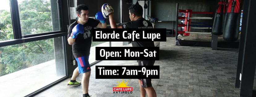 Elorde Cafe Lupe Boxing Gym 2018 Facebook Banner Cover.png