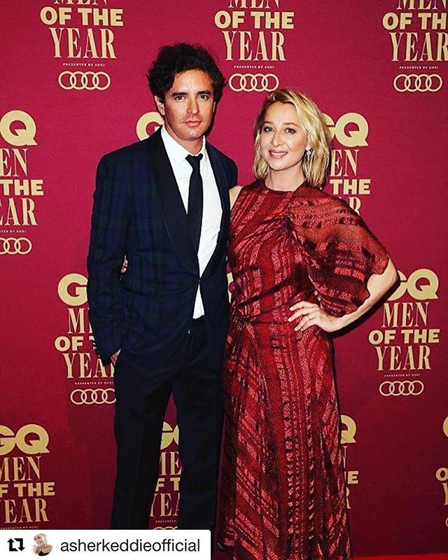 Incredible night with my beautiful #asherkeddie thanks #gqaustralia #gqmoty
