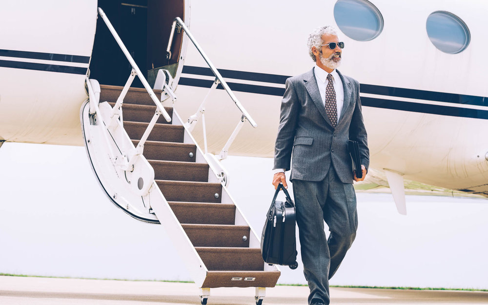 Jets & charters. - Executive travel management is typically managed separate of your main travel program. Innfinite enables you to manage private jets and charters alongside commercial bookings to create a truly comprehensive travel program.