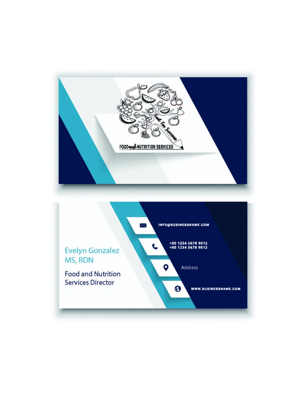 Business cards evelyn gonzalez cardg reheart Image collections