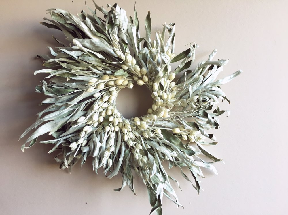 Wreaths - Seasonal decor created from responsibly foraged material