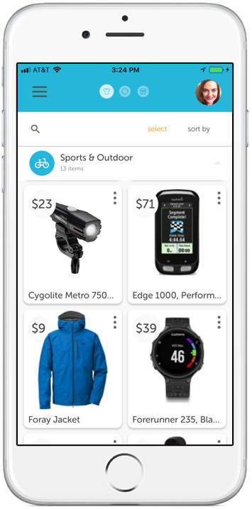 Auto-load your past and ongoing purchases directly from retailers. -