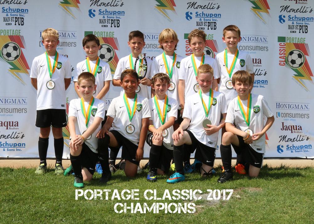 Boys U10 Gold