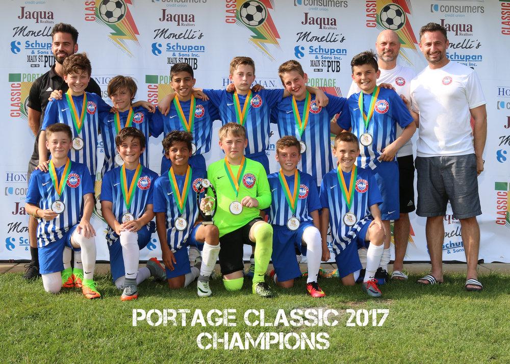 Boys U12 Gold