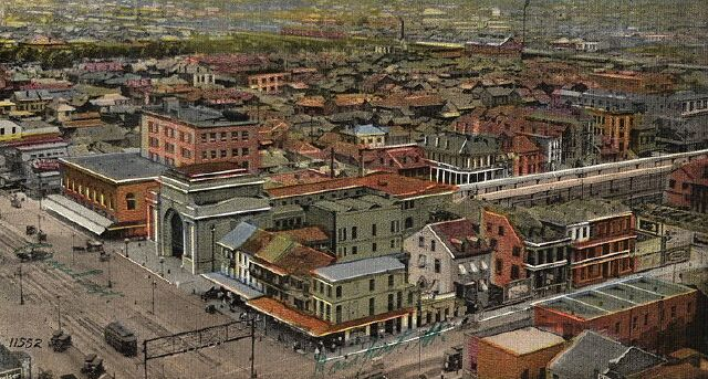Postcard of Storyville  http://beyondbourbonst.com/red-light-district/