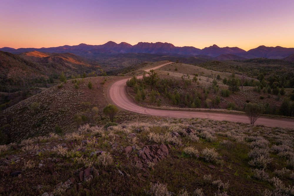 Razorback Trail -  Wilpena Pound, Flinders Ranges - South Australia