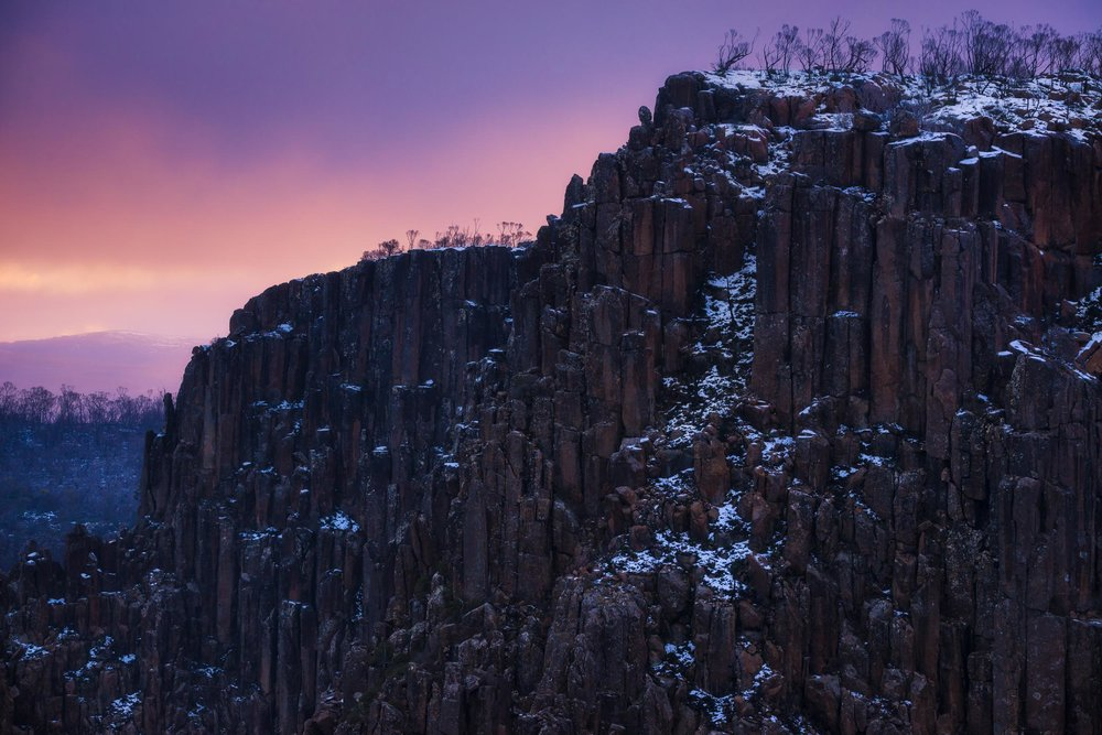 Frozen in Colour - Devil's Gullet - Tasmania