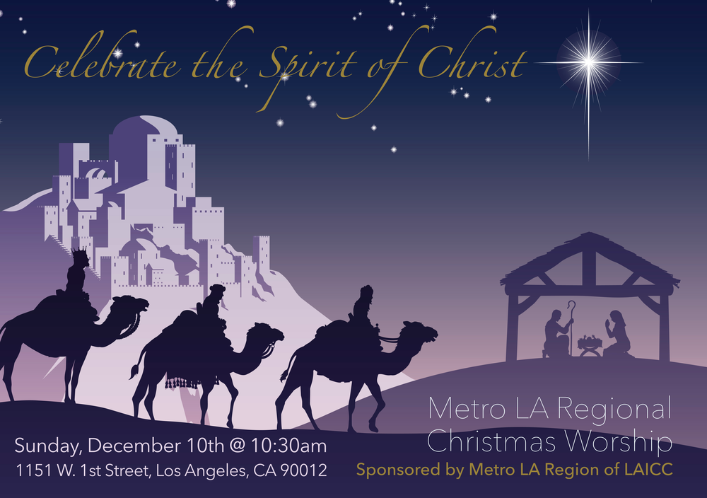 Please join us for this special Christmas worship!
