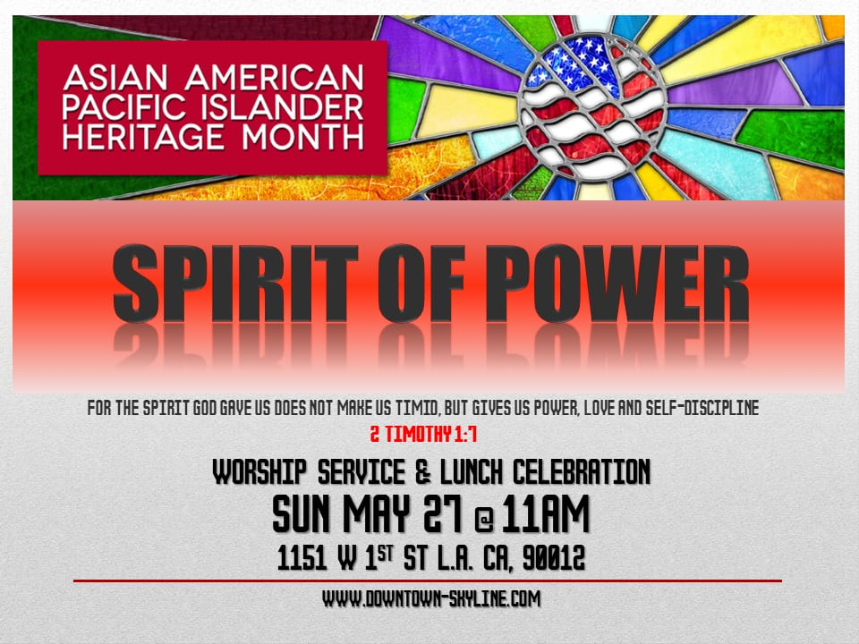 Spirit of Power Event