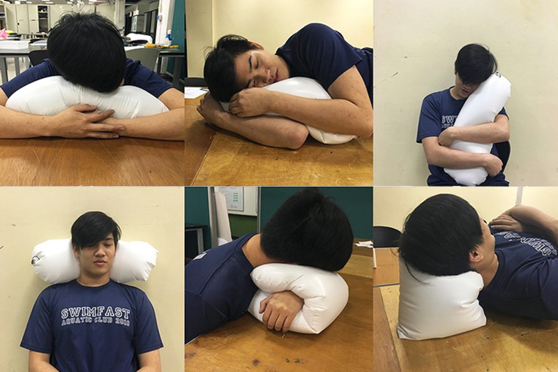 Explorations of napping postures