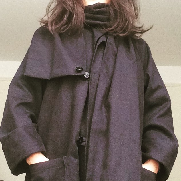 Urban Shepherd Coat 🐑🐑🐐🐐🐏🐏 #tweed #cotton #hemp #wool #trenchcoat #oversized #Newyork #brooklyn #independentbrand